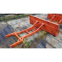Бульдозерный отвал (бульдозер) для ПЭ-Ф-1БМ для трактора МТЗ с балочным мостом